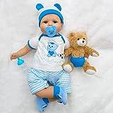 CYdoll Real Life 22' Soft Silikon Vinyl Reborn Baby Puppen Lebensechte Neugeborenes Mädchen...