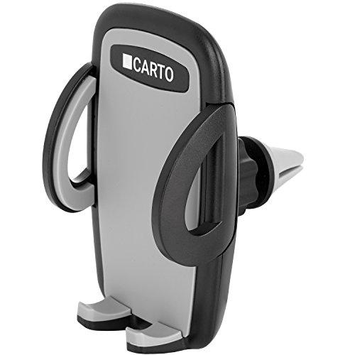CARTO Auto Handyhalterung 360 Grad drehbar kompatibel für iPhone, Samsung, Huawei, LG und weitere Smartphones | Lüftungsschlitz-Handyhalter, Universal-Handyhalterung, Phone Halter