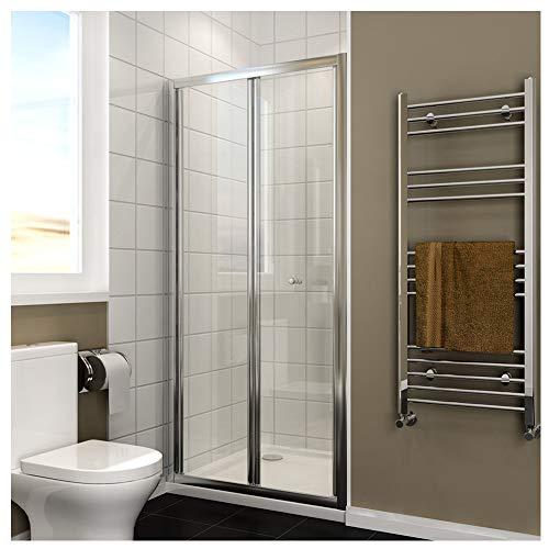 Duschkabine 90cm in Nische Nischentür Falttür Duschtür Duschwand glas faltbar