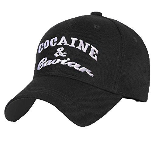 Imagen de new gorro de algodón  de béisbol tapas para matrículas cocaína de hojas de diseño de los caviar 420 correa ajustable multi color