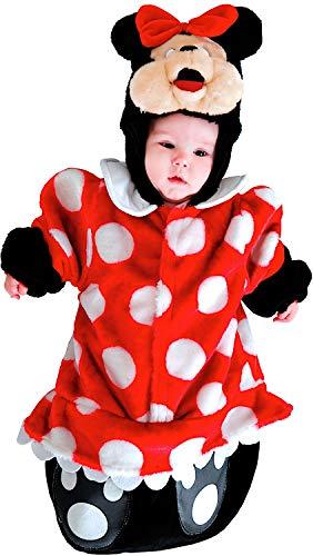 Costume di carnevale da saccottino topina vestito per neonato bambino 0-3 mesi travestimento veneziano halloween cosplay festa party 88381 taglia 0-3