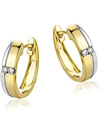 diamada 0.06 carats Diamond – Earrings – Gold 585/1000) – mf4004e