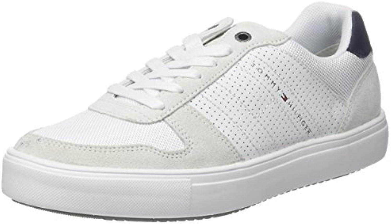 Tommy Hilfiger Lightweight Material Mix Sneaker, Zapatillas para Hombre