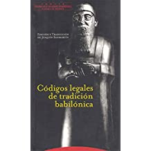 Códigos legales de tradición babilónica (Pliegos de Oriente)