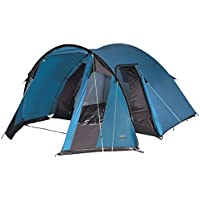 High Peak Tessin 5 Tenda, Unisex – Adulto, Blu/Marrone Scuro, 300 x 380 x 190/170 cm