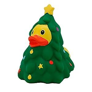 LiLaLu Badeente Rubber Duck Duck Duck Duck la natación de Invierno de Navidad Recoger: Tipo: Pato de Navidad