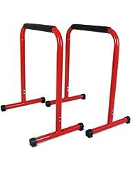 SportPlus Fitness Rack Pro, Höhe 70 cm, für Dips, Beinlifts, Liegestütze und mehr, Benutzergewicht bis 120 kg, Sicherheit geprüft nach EN ISO 20957-1, EN 957