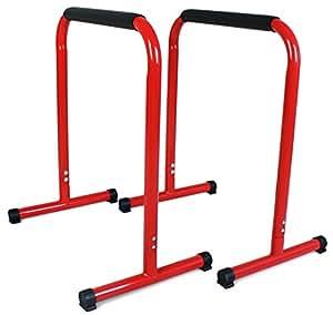 Sportplus Parallele Calisthenics | Barre Push Up | Rack Dip 70 cm | Parallele Basse per Crossfit e Flessioni