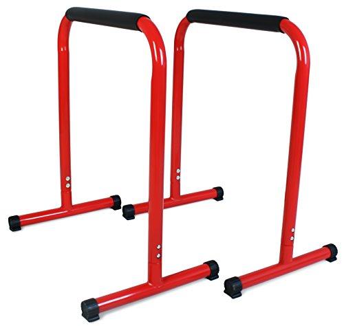 Sportplus Parallele Calisthenics | Barre Push Up | Rack Dip 70cm | Parallele Basse per Crossfit e...
