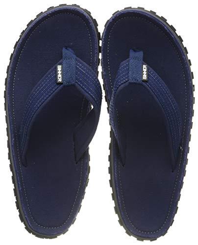SINNER Zehentrenner für Herren - Bequeme Strand Flip Flops - rutschfeste Sommer Beach Slaps - mit Hochwertiger Sohle - Blau 43