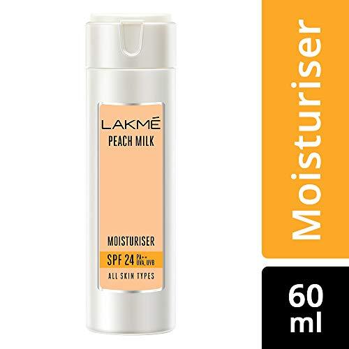 Lakme Peach Milk Moisturizer SPF 24 PA Sunscreen Lotion 60 ml