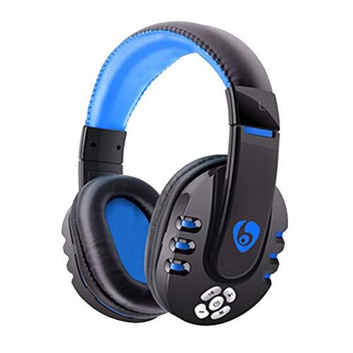 Bluetooth Kopfhörer Over Ear,- CVC 6.0 Noise Canceling für Mikrofon -Kabellose Headset Wireless Faltbare Ohrhörer OVLENG V8 Gaming Headset für PC/Telefon/PUBG (Telefon Headset-mikrofon Für)