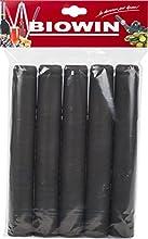 Tapones de botellas de vino Shrink/cápsulas (100unidades), color negro entrega.