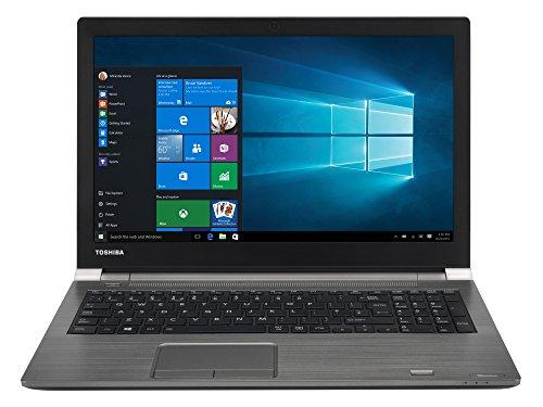 Toshiba Tecra A50-D1538 Laptop (Windows 10, 8GB RAM, 256GB HDD, Intel Core i7, Graphite Black, 15.6 inch)