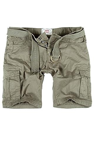 MERISH Hommes Cargo Shorts avec ceinture Short cargo style bermuda