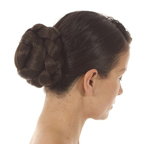 Brunette Lattice Effect Clip In Bun | Clip On Glamorous Hairpiece | Available in 5 Colours