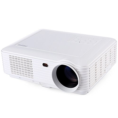 Joyhero LED Proiettore 4000 Lumens, SV-228 Videoproiettore Multimediale FullHD 1280