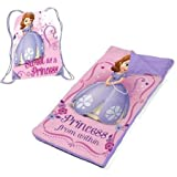 Sofia The First Slumber Bags Set/Nap Mat With Bonus Sling Bag