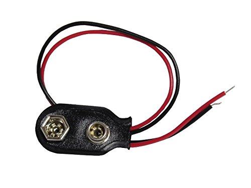 Batterie-Clip für 9 Volt-Batterie oder Batteriehalter -