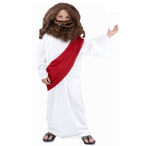 Jungen Weihnachten Kinder Kostüm Joseph 7-9 (Jesus Kostüme Baby)