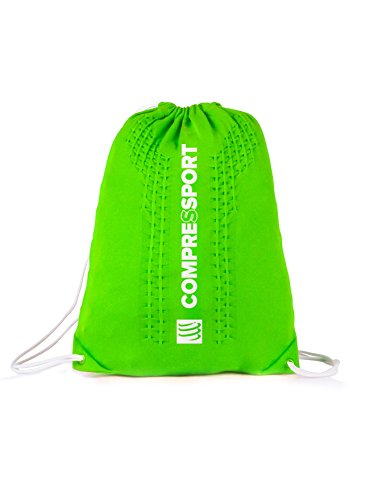 Compressport Endless Backpack Rucksack Beutel Sport Training Wettkampf Bag Tasche (blue) green