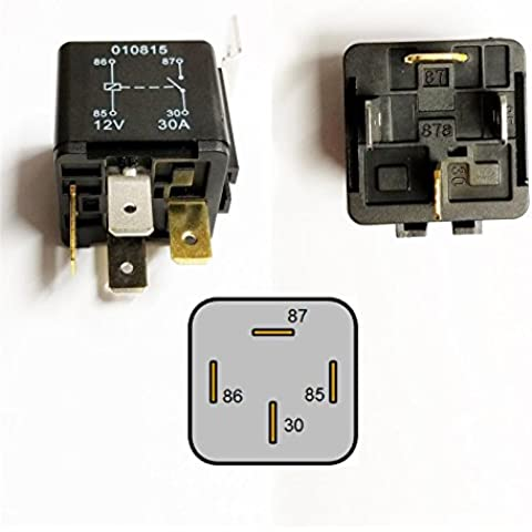 30Amp 12V Heavy Duty 4 Pin Changeover Relay Automotive Car Bike Boat Protection