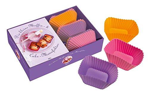 Preisvergleich Produktbild Die kleine Muffin- & Cake-Manufaktur (inkl. 9 Silikon-Backformen)
