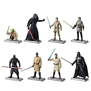 Pack 8 figuras 10 cm. Star Wars 2017 Era of the Force Exclusive , Hasbro 2