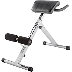 Kettler Trainingsbank Axos Back-Trainer-Máquina de Espalda, Color Gris, Talla Standard Banco, Adultos Unisex, Grey/Black, Única