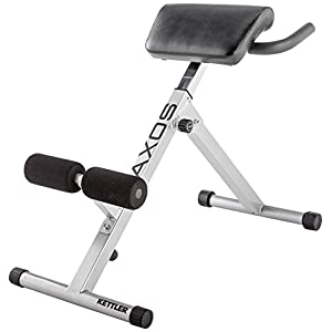 Kettler Trainingsbank Axos Back-Trainer, Grau/Schwarz, 07629-300