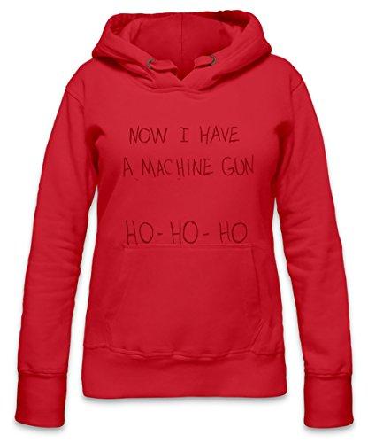 I Have a Mashine Gun Womens Hoodie Medium -