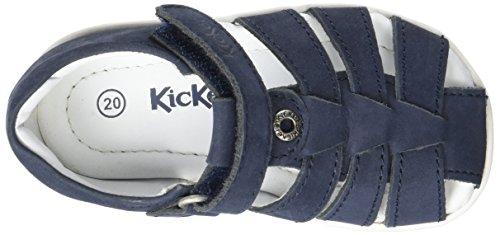Kickers Solaz, Sandales Bébé Garçon Bleu (Marine)
