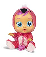 Meet the Cry Baby fancy, she is a flamingo and very sweet! She is very cute but she cries real tears when you take her dummy out! Put her dummy back in again or she Won'T Stop crying and she cry even louder! You can also lay her down to calm ...