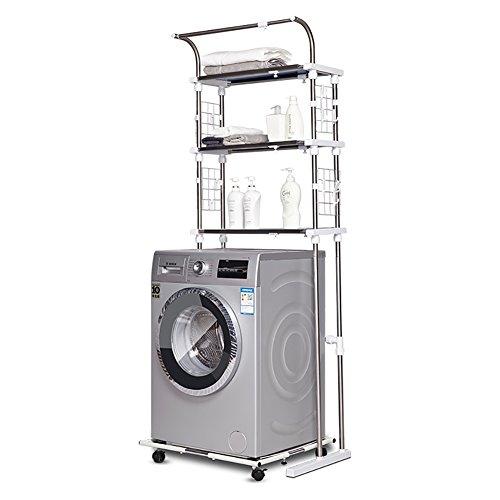 Rullo ripiano lavanderia mensola dei prodotti per il lavaggio rack lavanderia rack three layers ( dimensioni : steel plate )