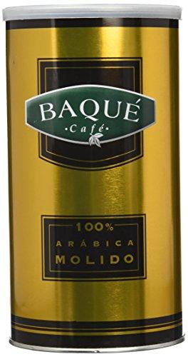 Cafés Baqué café molido 100% Arábicas Lata - 500 gr