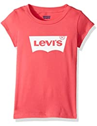 Levi s Kids Womens Short Sleeve Batwing Tee (Toddler) 7dd8268a0e