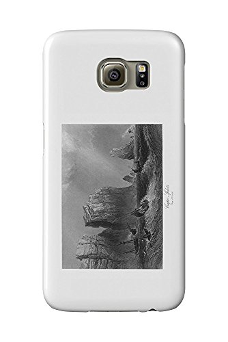 Nova Scotia, Canada - Bay of Fundy View of Cape Split (Galaxy S6 Cell Phone Case, Slim Barely There) Bay Cape