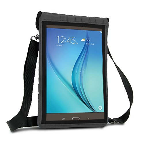 10-Zoll-Tablet-Tasche von USA Gear - Portable Umhängetasche mit Touch-Funktion und Bildschirm Schutz - Passend für alle Apple iPad Air / 10
