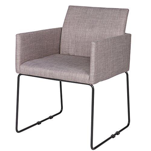 2er Set Esszimmerstuhl JOOLS Küche Stuhl Konferenzstuhl Küchenstuhl Kufenstuhl