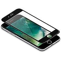vau Panzerglas Pro für iPhone 8 / iPhone 7 – Panzer-Folie, Display-Schutzfolie deckt gesamte iPhone7 iPhone8 Front ab ( schwarz )