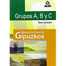 Grupos a,b y c  de la diputacion foral de guipuzcoa. Test comun