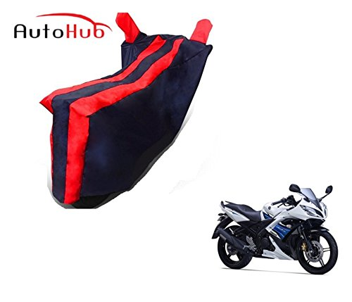 Auto Hub Bike Body Cover For Yamaha YZF R15 S - Black Red  available at amazon for Rs.259