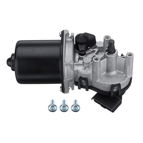 Mazur Autoteil vorne Scheibenwischermotor Fit fit Nissan fit Qashqai 2007-2016 28800-JD000 Fahrzeuge Montage (schwarz & grau)