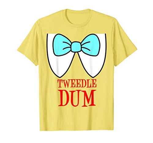 Tweedle Dum Kostüm T-Shirt (Tweedles Kostüm)