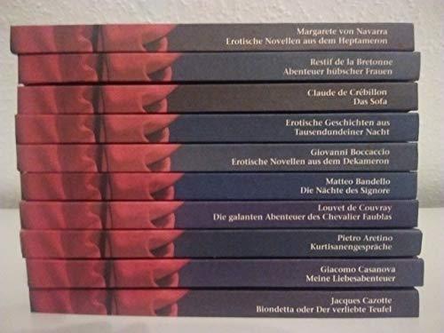 Erotische Geschichten der Weltliteratur, 10 Bde.