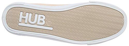 Hub Bouman C06, Sneaker femme Rose - Pink (soft rose/wht 067)