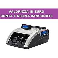 rileva valorizzatore cuenta billetes verifica Monedero Falsi integrado piezas Euro