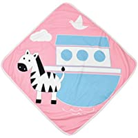 Splash About - Toalla con Capucha para bebé, Infantil, Color Nina's Ark, Tamaño Talla única