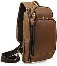Lannsyne Leather Sling Bag