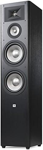 """JBL Studio 280 3-way Dual 6.5"""" Floorstanding Loudspeaker-Pair, Black,"""